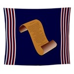 Declaration Of Independence Wall Tapestry