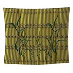 Tropical Bamboo Wall Tapestry