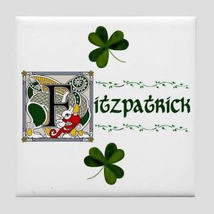 Fitzpatrick Celtic Dragon Ceramic Tile