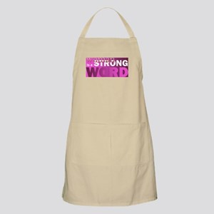 Woman is a STRONG WORD Light Apron