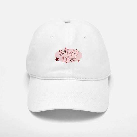 """""""Safety Diva"""" [red] Baseball Baseball Cap"""