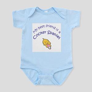 My Best Friend is a Cocker Spaniel Infant Creeper