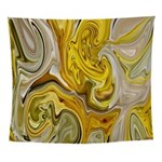 Yellow Festival Wall Tapestry