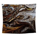 Brown Liquid Wall Tapestry