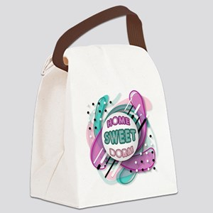 HOME Sweet DORM Canvas Lunch Bag