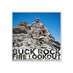 Buck Rock Fire Lookout Sequoia Natl Forest Sticker