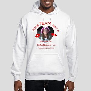 ISABELLE J Hooded Sweatshirt