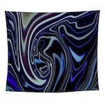 Blue Midnight Wall Tapestry