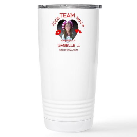ISABELLE J Stainless Steel Travel Mug