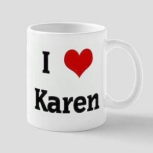 I Love Karen Mug