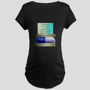 Fukitol Maternity Dark T-Shirt