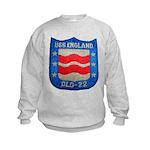 USS ENGLAND Kids Sweatshirt