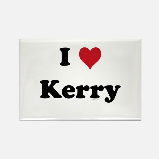 I love Kerry Rectangle Magnet