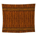 Warm Wood Wall Tapestry