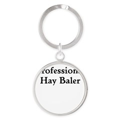 Professional Hay Baler Keychains
