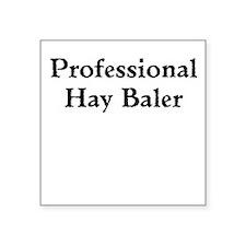 Professional Hay Baler Sticker