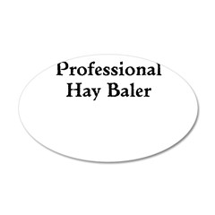 Professional Hay Baler Wall Decal