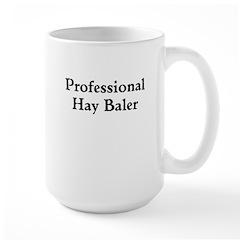 Professional Hay Baler Mugs
