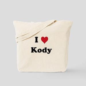 I love Kody Tote Bag