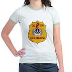 USS ENGLISH Jr. Ringer T-Shirt