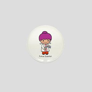 Future Scientist - girl Mini Button