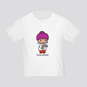 Future Scientist - girl Toddler T-Shirt