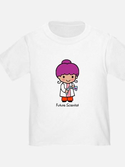 Future Scientist - girl T