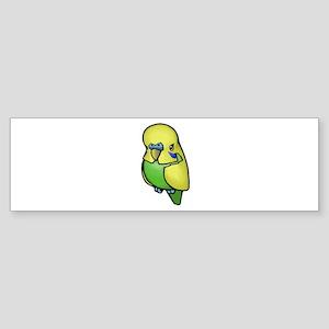 Little Budgie Bumper Sticker