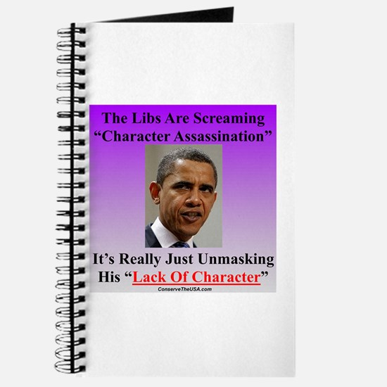 """Character Assassination"" Journal"