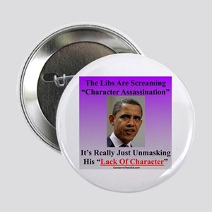 """Character Assassination"" 2.25"" Button"