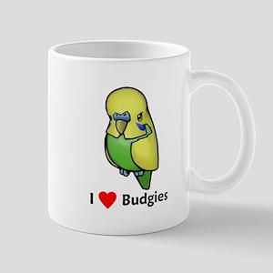 I Love Budgies Mug