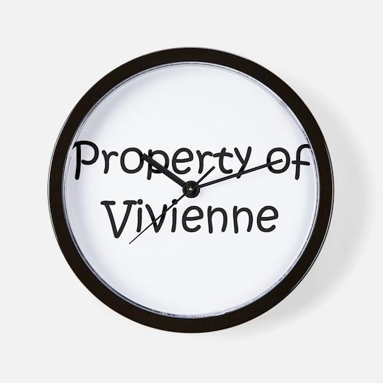 Funny Vivienne Wall Clock