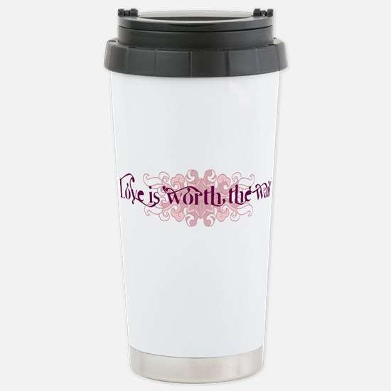 Worth the Wait Stainless Steel Travel Mug