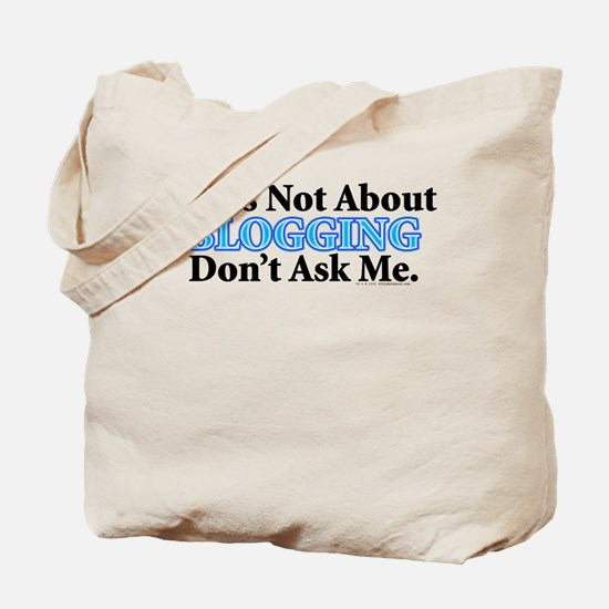 Blogging Tote Bag