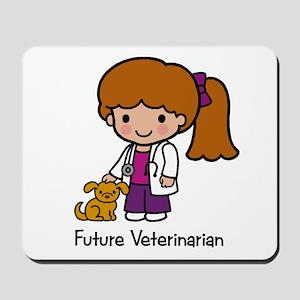 Future Veterinarian Girl Mousepad