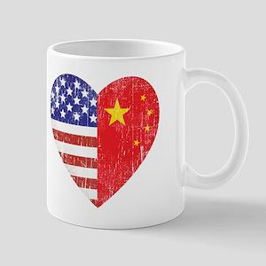 Family Heart Mug