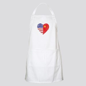 Family Heart BBQ Apron