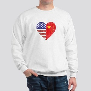 Family Heart Sweatshirt