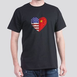 Family Heart Dark T-Shirt