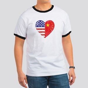 Family Heart Ringer T