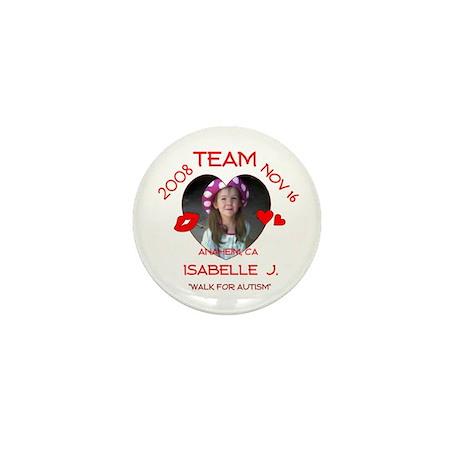 ISABELLE J Mini Button