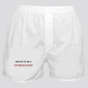 Proud to be a Storiologist Boxer Shorts