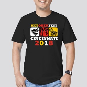 Oktoberfest Cin 2018 Men's Fitted T-Shirt (dark)