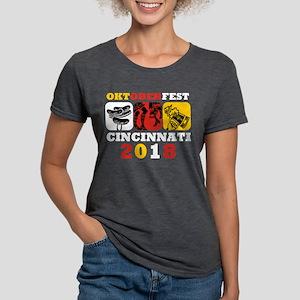 Oktoberfest Cin 2018 Womens Tri-blend T-Shirt