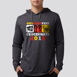 Oktoberfest Cin 2018 Mens Hooded Shirt