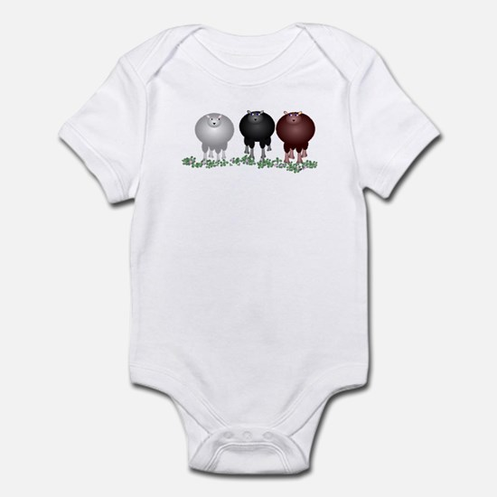 Counting Sheep Baby Light Bodysuit
