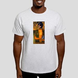 Klimpt dog Grey T-Shirt