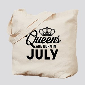 Queens Are Born In July Tote Bag