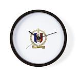 DUON Family Crest Wall Clock