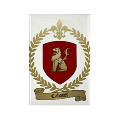 CAHOUET Family Crest Rectangle Magnet (100 pack)